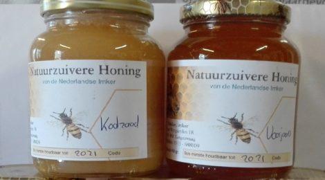 Nieuwe honing uit 2019